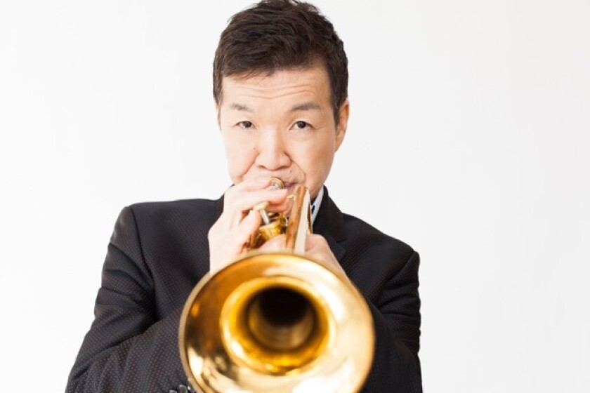 """Jazz trumpeter Shunzo Ohno, the subject of the aptly named film documentary """"Never Defeated,"""" counts jazz sax giant Wayne Shorter as one of his key mentors."""