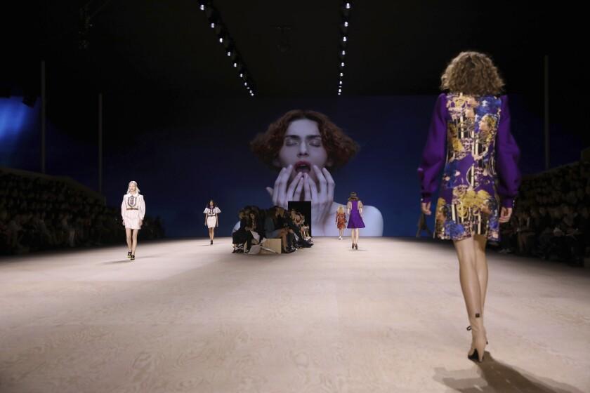 APTOPIX Paris Fashion S/S 2020 Vuitton