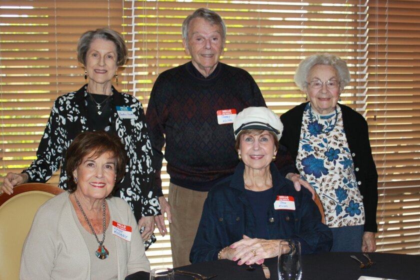 (Front Row) Lynn Mooney and Jean Kuisel (Back Row) Barbara Frickle, Jerry Kuisel and Bea Parnes