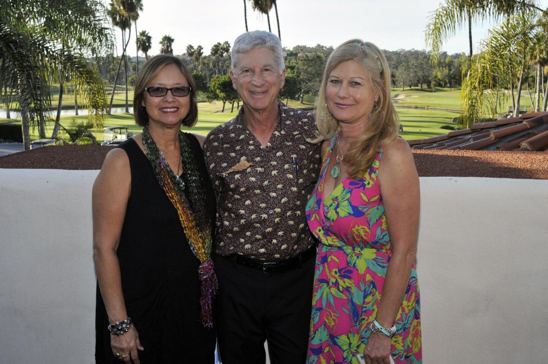Event co-chair Lois Jones, SDRVC President Peter Shapiro, Executive Director Trish Boaz