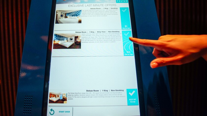 At last, self-check-in kiosks come to these Las Vegas hotels