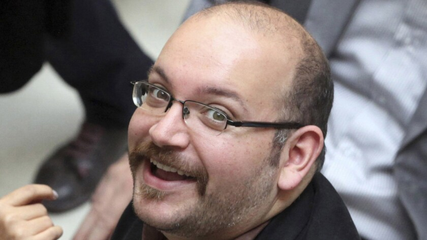 Washington Post correspondent Jason Rezaian in Tehran in 2013. Rezaian was released by Iran on Saturday after being held for 18 months.