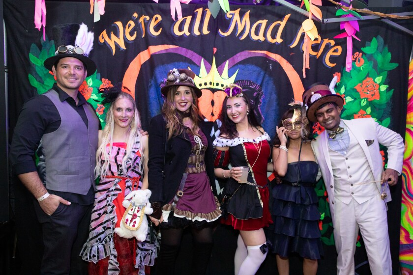 The Mad Hatter's Ball: We're All Mad Here