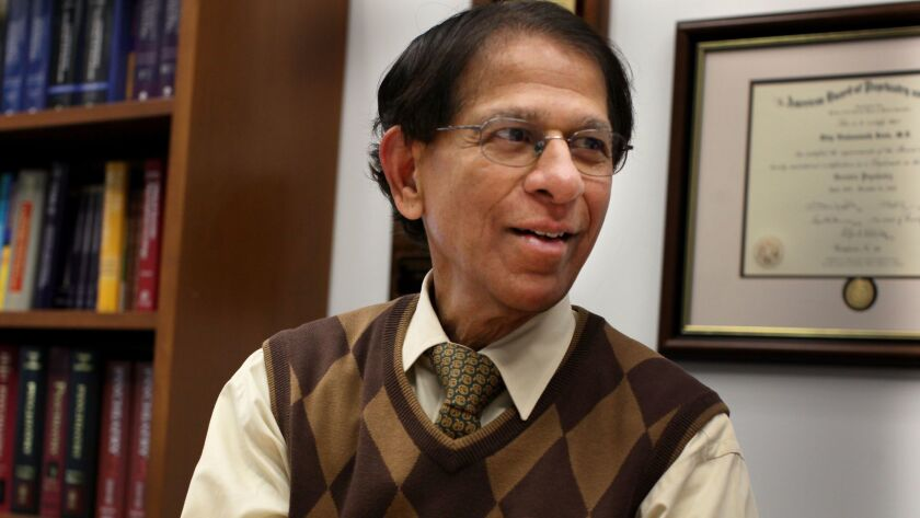Dilip Jeste, director of UC San Diego's Center for Healthy Aging.