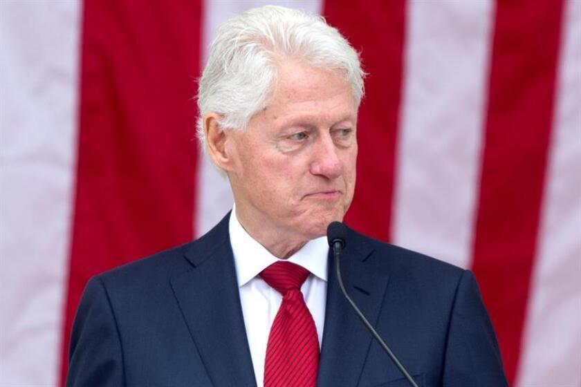 En la imagen, el expresidente de Estados Unidos Bill Clinton. EFE/Archivo
