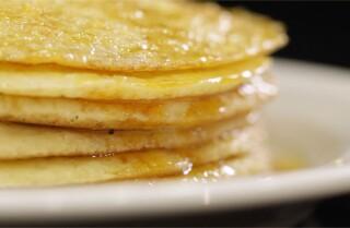Chef Farid Zadi prepares Baghrir (North African pancake) for Ramadan