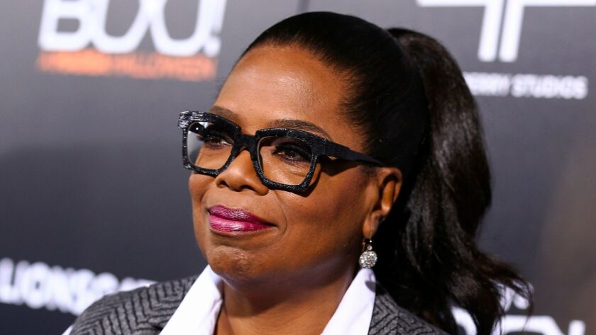 Oprah Winfrey didn't say no when asked about a 2020 presidential bid. But her pal Gayle King said that doesn't mean yes.