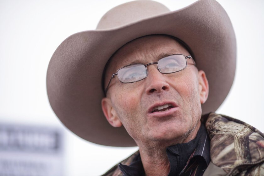 What did LaVoy Finicum die for?