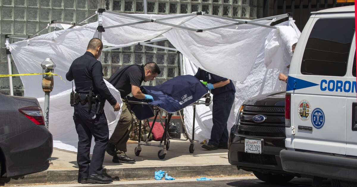 Column: Another year, another thousand deaths. L.A. homeless crisis hits a crossroads