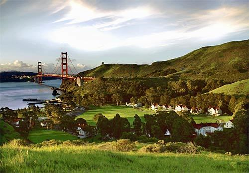 Cavallo Point in San Francisco Bay