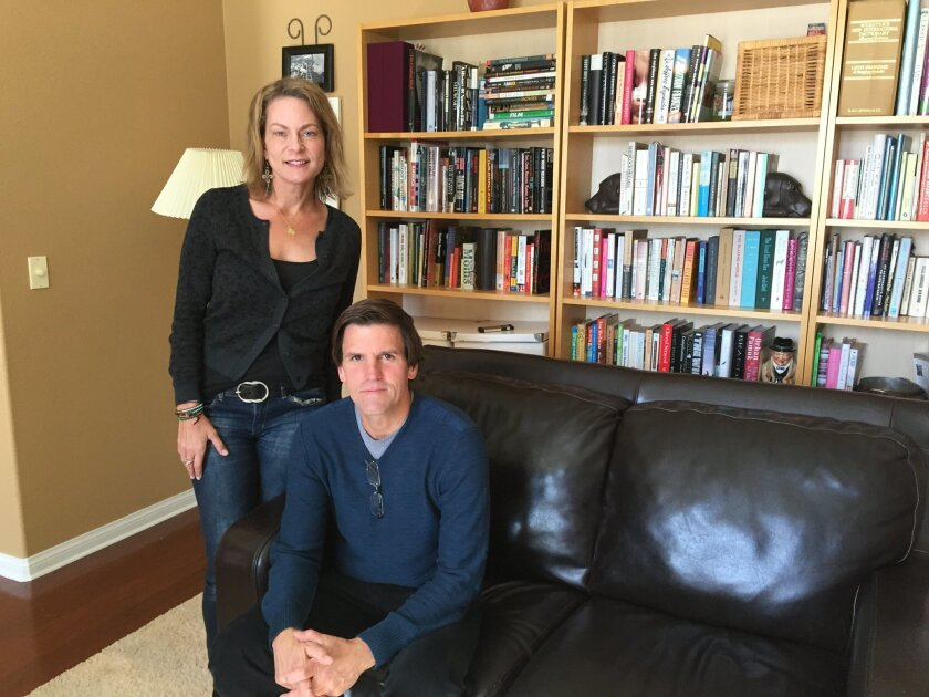 "Melissa Collins-Porter and Craig Young are the co-producers of ""Aging Out,"" a documentary that will look at the challenges faced by people with autism when they become adults."