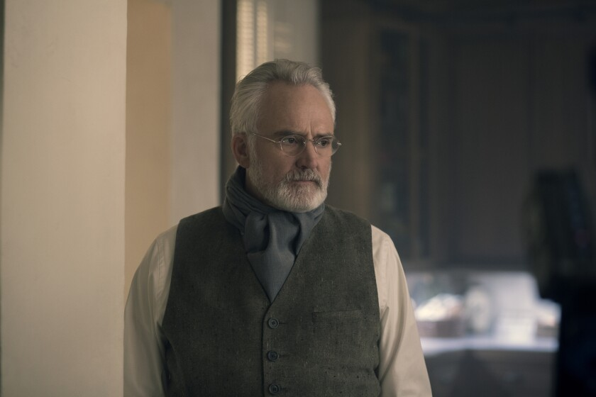 Bradley Whitford as the enigmatic Commander Lawrence in 'The Handmaid's Tale'