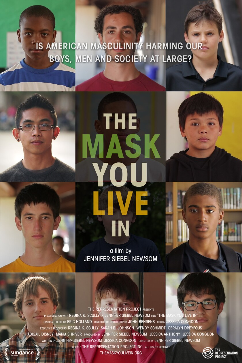 The Children's School will present 'The Mask You Live In,' 7 p.m. Tuesday, Jan. 10