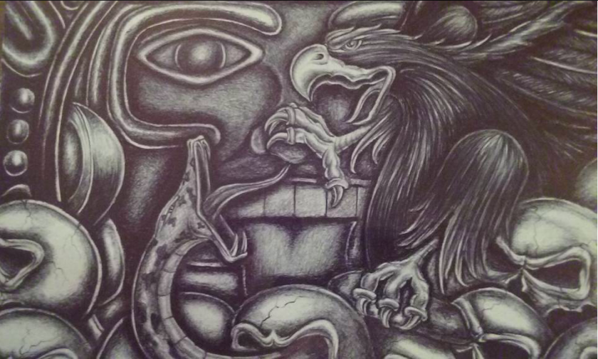 Art by Rene Nava will be featured at the Prison Art Show.