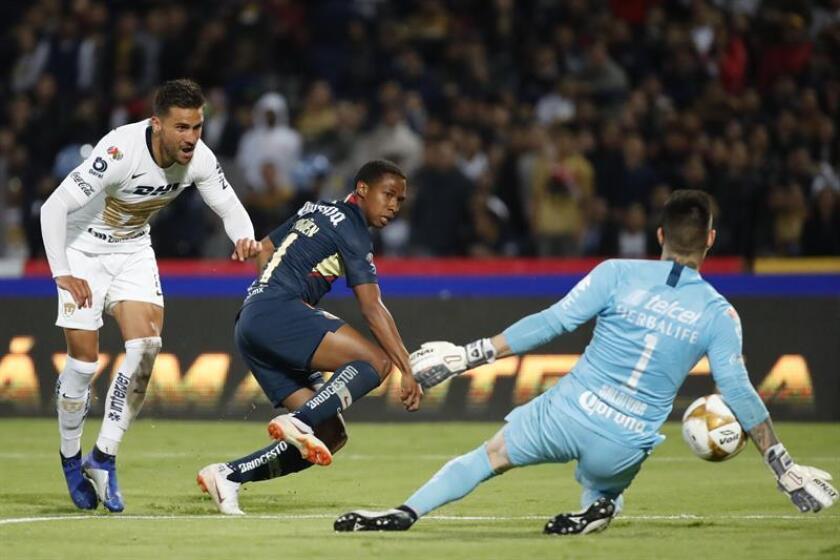 America, Pumas draw 1-1 in Mexican soccer semi-final first leg