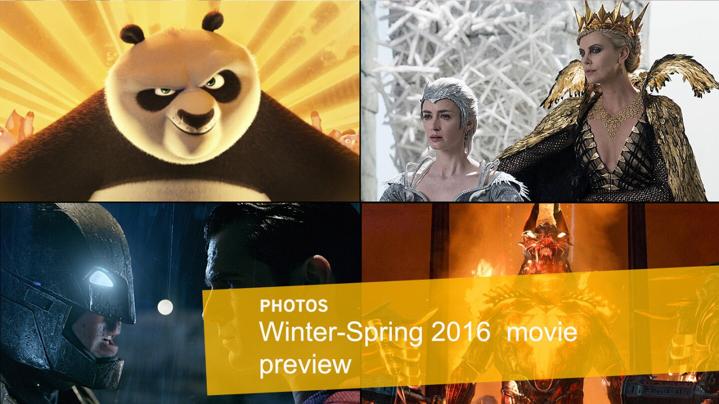 Our Winter-Spring movie preview guide.