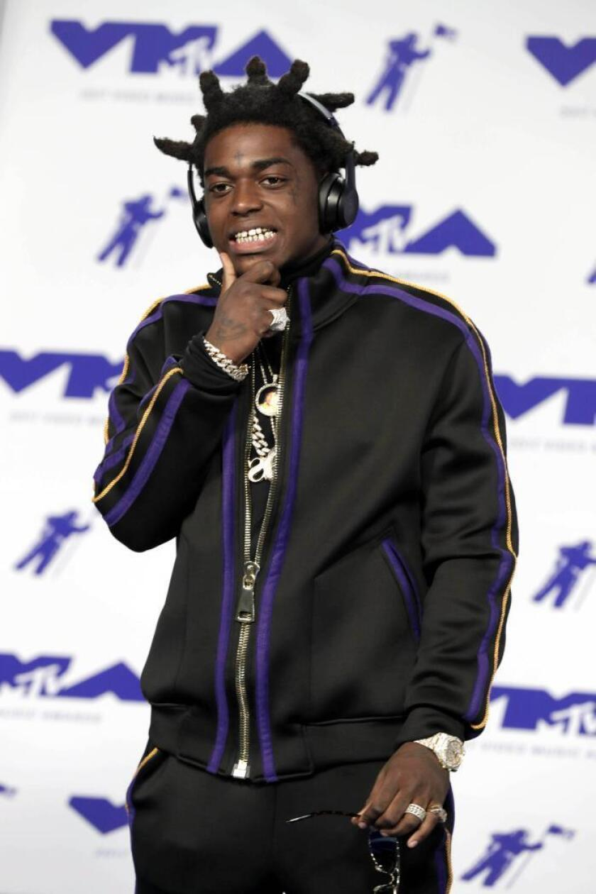 Kodak Black arrives on the red carpet for the 34th MTV Video Music Awards (VMA) at The Forum in Inglewood, California, Los Angeles, USA. EFE/Mike Nelson/File