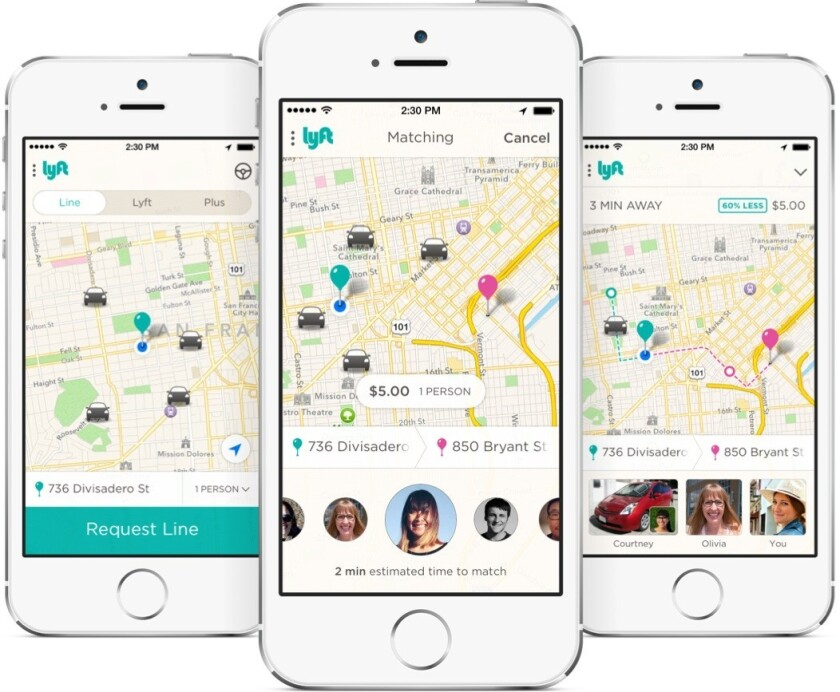 Lyft's new service Lyft Line offers rides that are up to 60% cheaper than normal Lyft rides, but users must be willing to carpool with others.