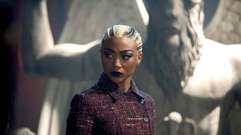 "Tati Gabrielle in ""The Chilling Adventures of Sabrina."""