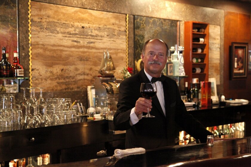 Larry Tomicich owner of Old Trieste restaurant in Bay Park.