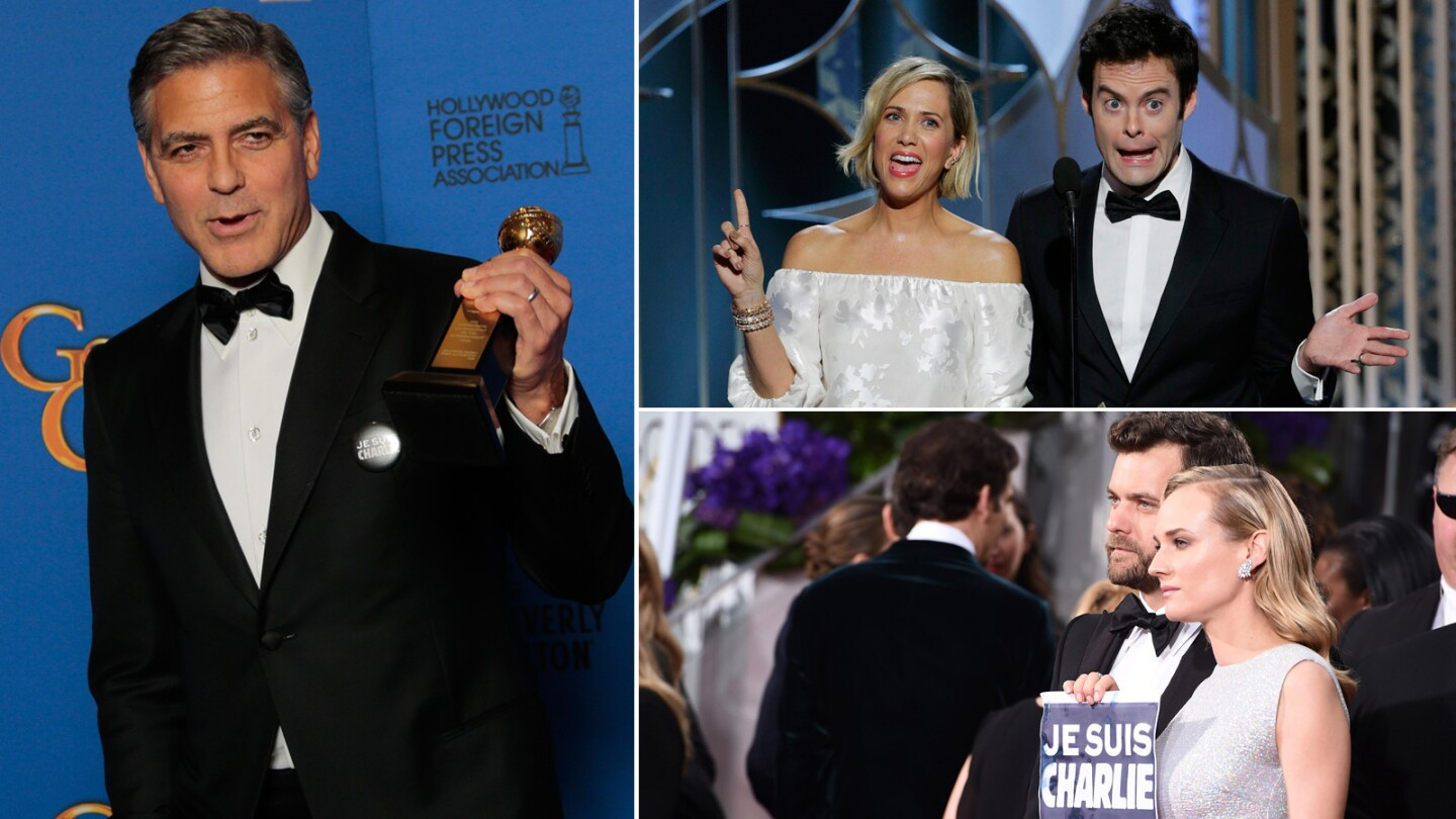 The best and worst moments from the 2015 Golden Globes Awards.
