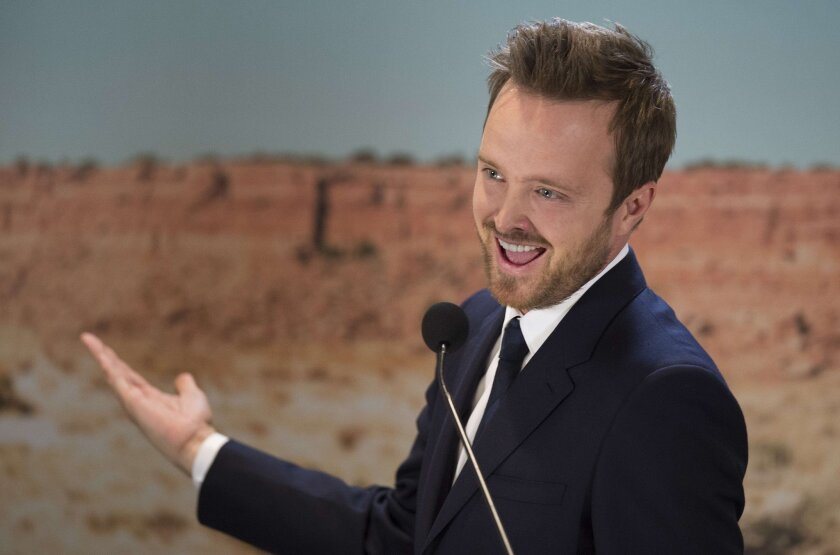 """Hulu has announced that the upcoming drama starring """"Breaking Bad"""" alum Aaron Paul, """"The Path,"""" will premiere in March."""