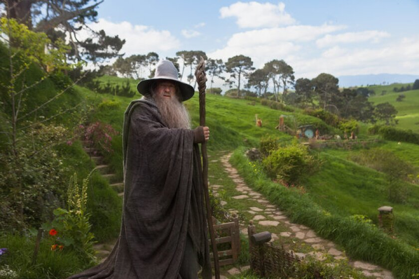 """""""The Hobbit: An Unexpected Journey,"""" starring Ian McKellen, earned three Golden Reel nominations for excellence in sound editing."""