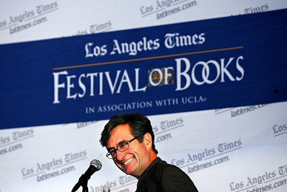 Richard Rayner was among the authors who spoke at the Los Angeles Times Festival of Books at UCLA.