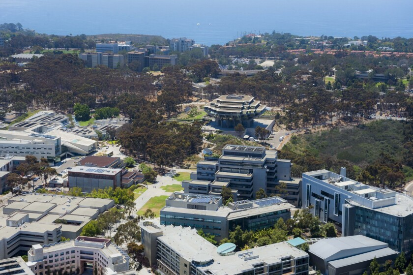 About 14,500 students are expected to live on campus at UC San Diego once the fall quarter begins Sept. 28.