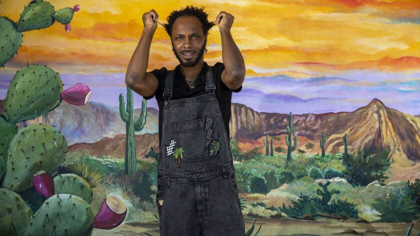 SHERMAN OAKS,CA --TUESDAY, JUNE 26, 2018--Barrington Hendricks, known by his stage name, JPEGMAFIA i
