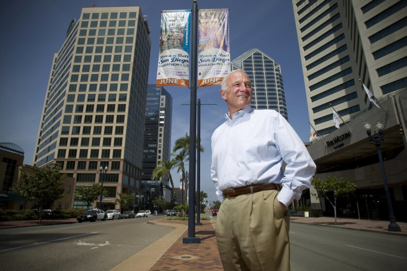 Chamber of Commerce President Jerry Sanders says the business group will make its endorsement in the San Diego mayor's race this Thursday.