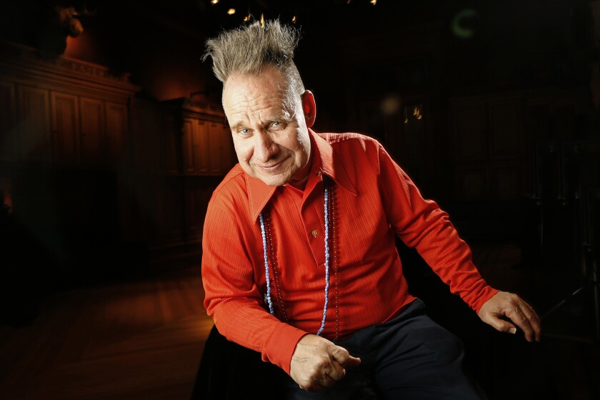 NEW YORK, NEW YORK--MAY 27, 2016--Opera and theater director Peter Sellars is directing a group for