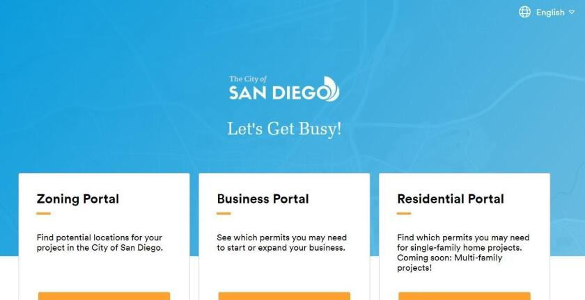 The residential portal is the third expansion of OpenCounter, which provides online services for zoning and business permits at business.sandiego.gov