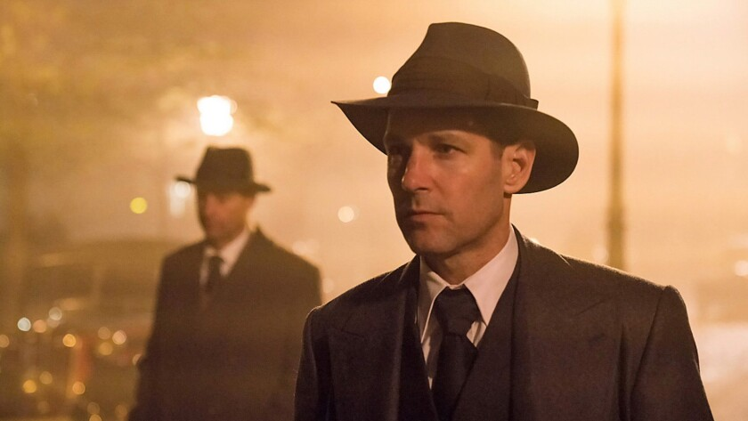 "Paul Rudd in the movie ""The Catcher Was a Spy."""