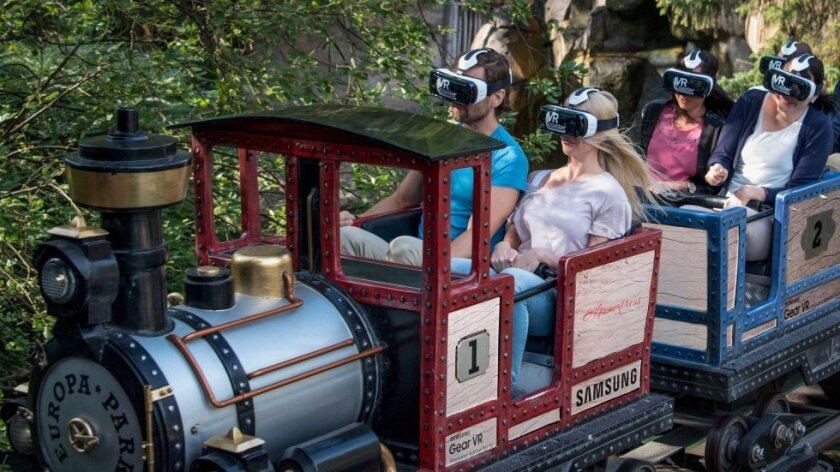 Virtual reality rides set to invade theme parks in 2016