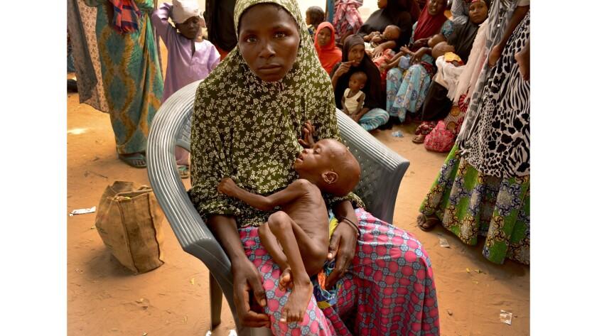 Hadiza Adamu wandered Maiduguri, Nigeria, for days seeking help for her 1-year-old son, Hassan, who was growing weaker every day.