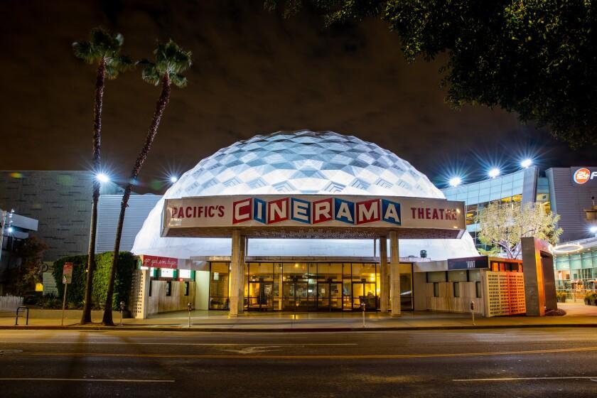 The ArcLight Cinerama Dome.