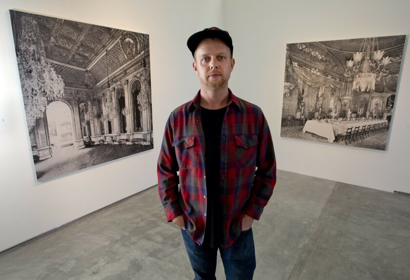 San Francisco-based artist James Chronister is in residence at the Lux Art Institute in Encinitas.