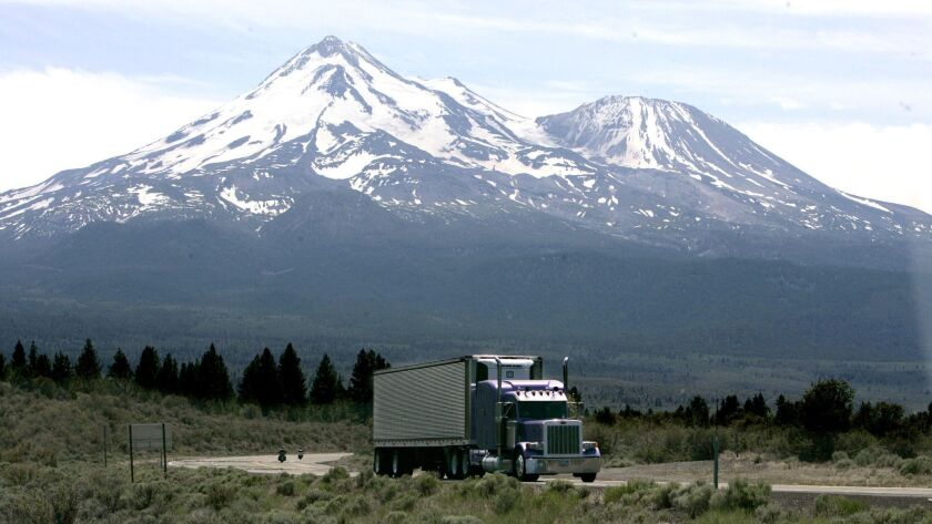 FILE -- This June 19, 2008 file photo shows Mount Shasta near Weed, Calif. Researchers say nearly 20
