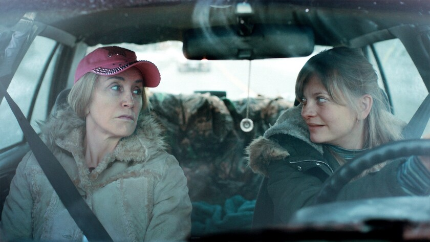 """""""Tammy's Always Dying"""" stars Felicity Huffman and Anastasia Phillips."""