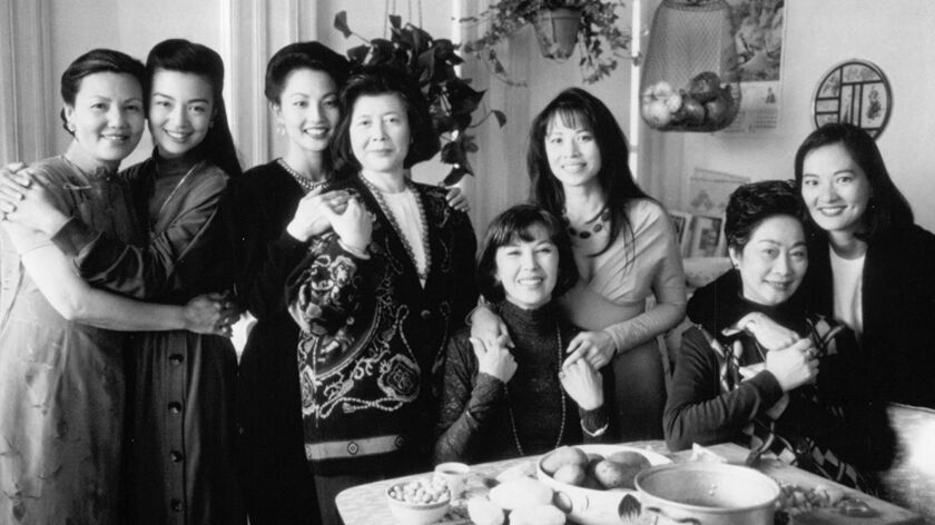 """A still from the film """"The Joy Luck Club."""""""