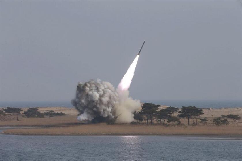 El Consejo de Seguridad de la ONU votará este miércoles la imposición de nuevas sanciones a Corea del Norte en respuesta al ensayo nuclear que llevó a cabo el pasado septiembre, dijo hoy a Efe una fuente diplomática. EFE/ARCHIVO