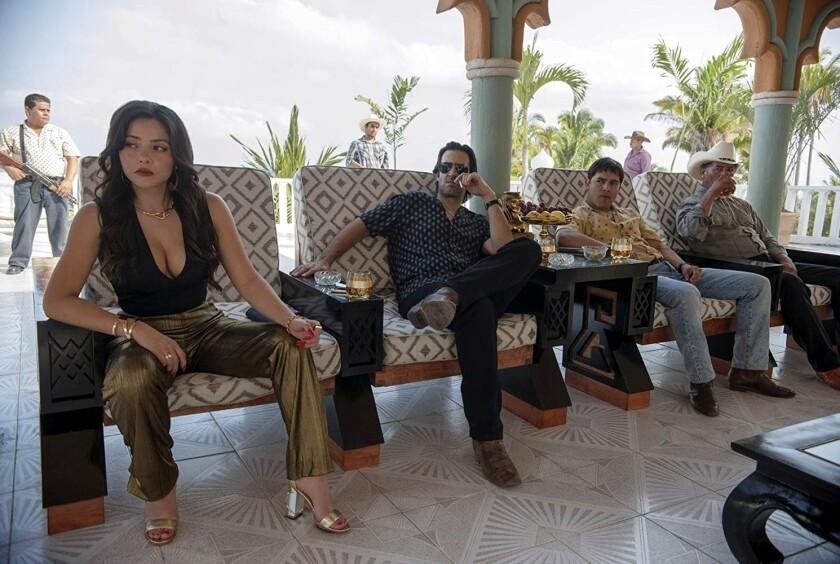 Teresa Ruiz (primera de izq. a der.) es la única mexicana miembro de The Actors Studio.