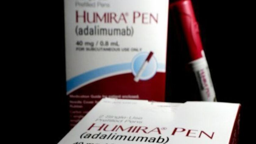 AbbVie's signature drug Humira is used to treat a variety of autoimmune diseases, including arthritis and psoriasis.