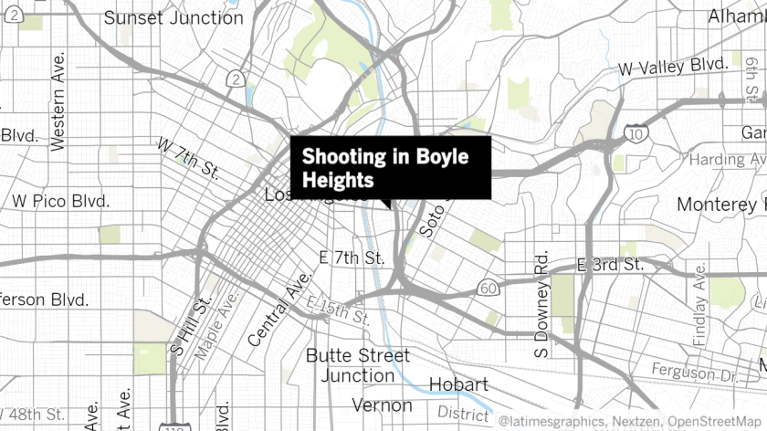 LAPD searches for shooter who exchanged gunfire with officers in Boyle Heights