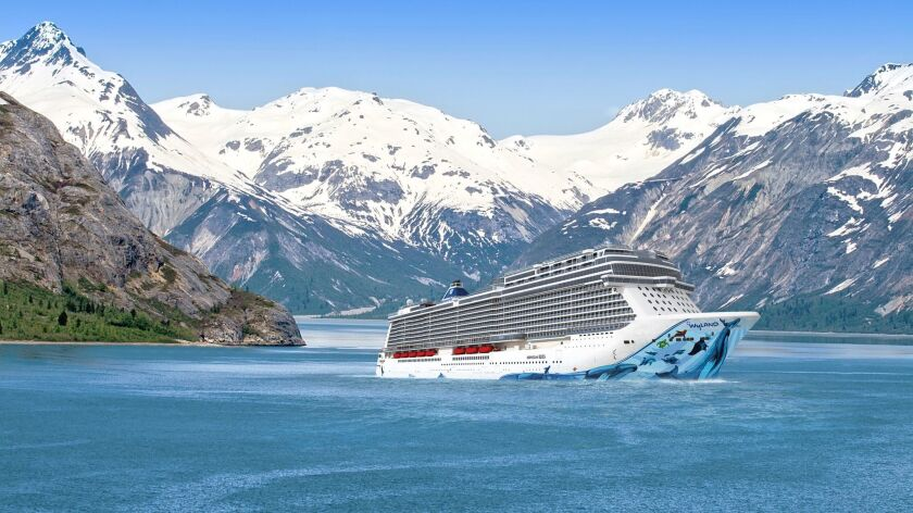 This undated image rendering provided by Norwegian Cruise Line shows Norwegian Bliss, a new ship lau