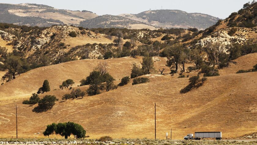 Land along California 138 near the 5 Freeway could be surrounded by development for the proposed Centennial project on Tejon Ranch, a 270,000-acre private property.