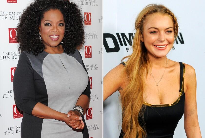 Oprah Winfrey talks Lindsay Lohan