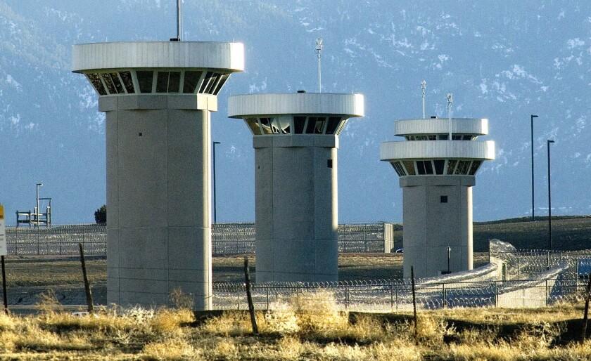 U S  'supermax' prison: 'Alcatraz of the Rockies' is seen as
