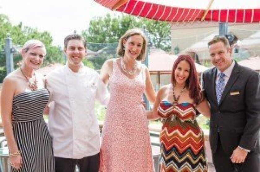 'Pink Brunch' Saturdays at Amaya at the Grand Del Mar are for a good cause.